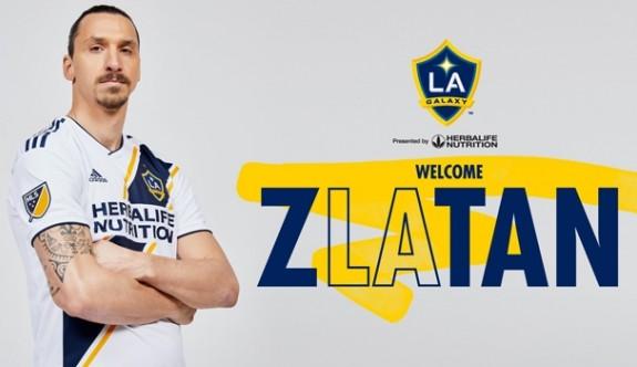 Ibrahimovic resmen LA Galaxy'de