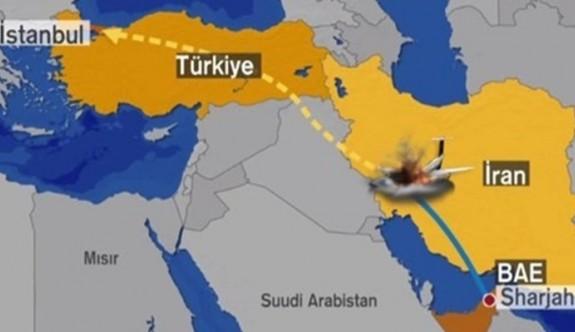 İran'da özel Türk jeti düştü