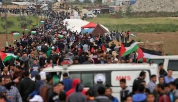 İsrail-Gazze sınırında büyük gerginlik