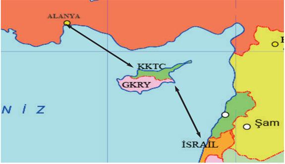 İsrail ve Alanya'ya gemi seferi hazırlığı