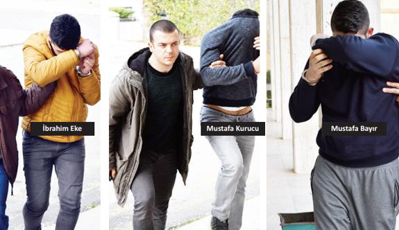 Jeneratör hırsızlığında beş tutuklama