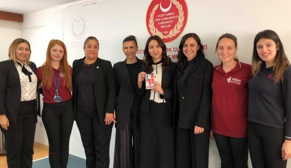 Kadın milletvekillerine KISAA projesine  destek.