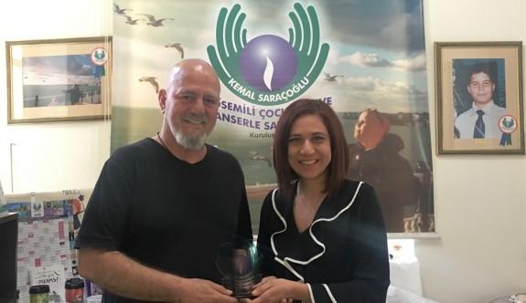Kemal Saraçoğlu Vakfı'na anlamlı bağış