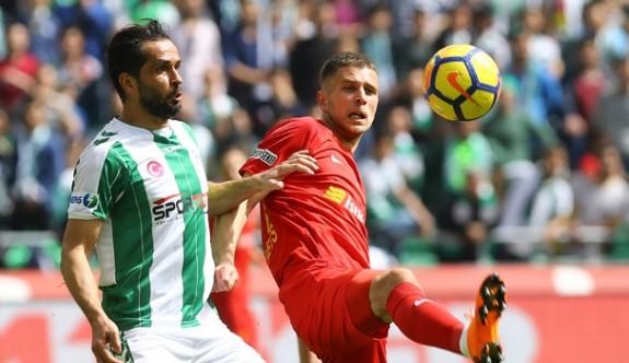 Konyaspor'dan kritik 3 puan