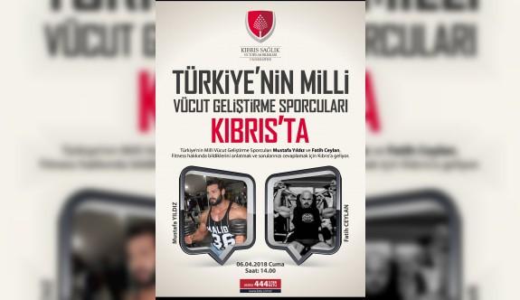 """KSTBÜ'de """"Vücut Geliştirme Söyleşisi"""" yapılacak"""