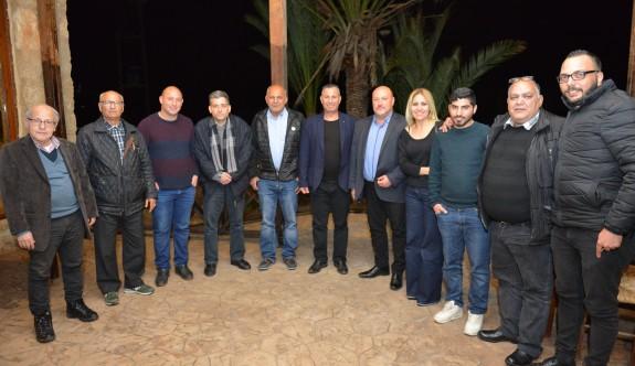 KTSYD yönetimi, Batı'daki üyeleriyle buluştu