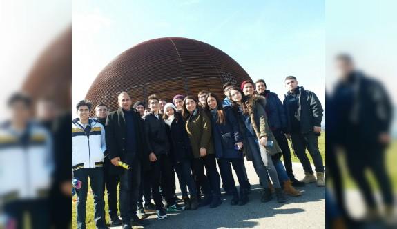 Levent College öğrencileri CERN Merkezini ziyaret etti