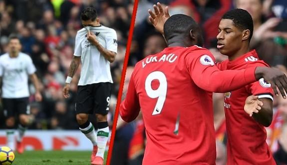 Manchester United, Liverpool'u evine boş gönderdi