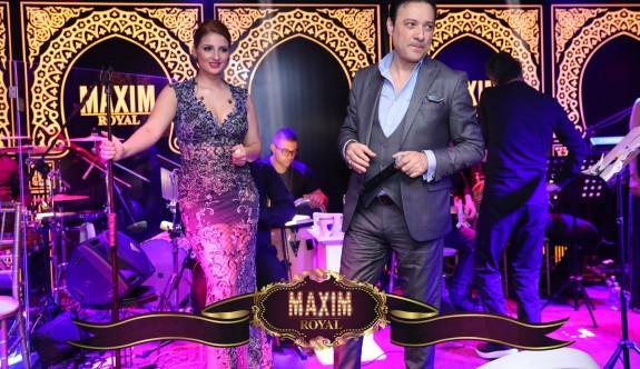Maxim Royal'de yıldızlar geçidi
