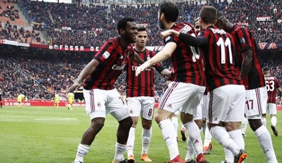 Milan kazanmasını bildi