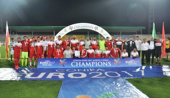 Milli takımın CONIFA programı belirlendi