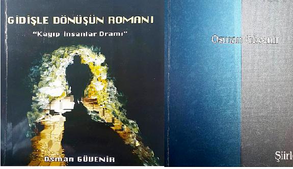 Osman Güvenir'den bir roman, bir şiir kitabı
