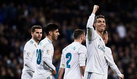 Real Madrid'i Ronaldo sırtladı