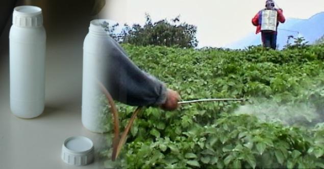 Ruhsatsız tarımsal ilaç deposu mühürlendi