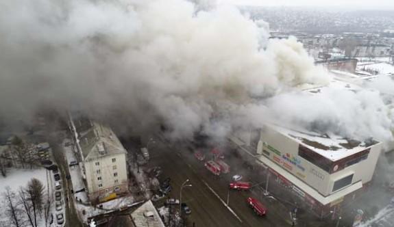 Rusya'da AVM yangın faciasında korkunç rakam