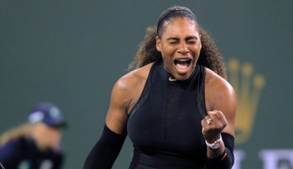 Serena Willams galibiyetle başladı