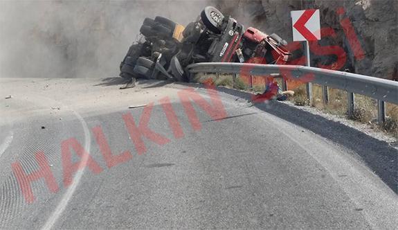 SON DAKİKA: Dağ yolunda feci kaza