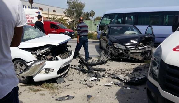SON DAKİKA:Tuzla Yolunda korkutan kaza