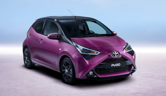 Toyota'nın en küçüğü Aygo yenilendi