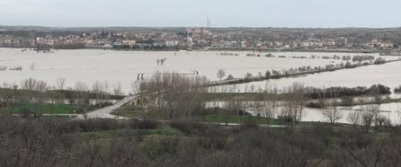 Trakya'da Ergene nehri taşkınlara neden oldu