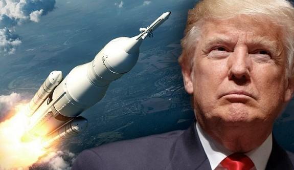 Trump'tan 'uzay ordusu' açıklaması