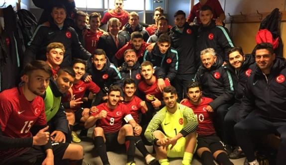 Türkiye U19 Milli Takımından büyük başarı