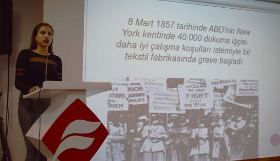 UFÜ'lü öğrencilerden 8 Mart Dünya Kadınlar Günü etkinlikleri