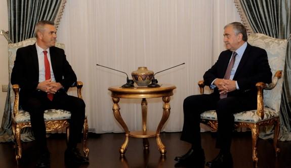 Uluçay'ın ilk nezaket ziyareti Cumhurbaşkanına