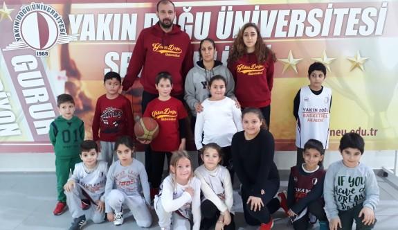 YDÜ Basketbol Akademi, antrenmanlara start verdi