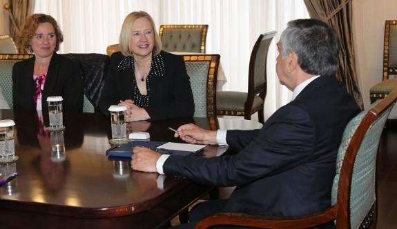 Akıncı, Spehar'la 16 Nisan'daki görüşmenin düzenlemelerini konuştu