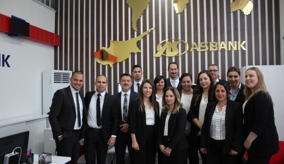 Asbank Yenikent Konsept Şubesi hizmete girdi