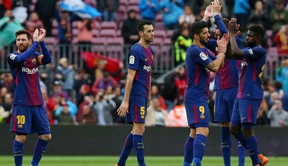 Barcelona 38 yıllık rekoru kırdı