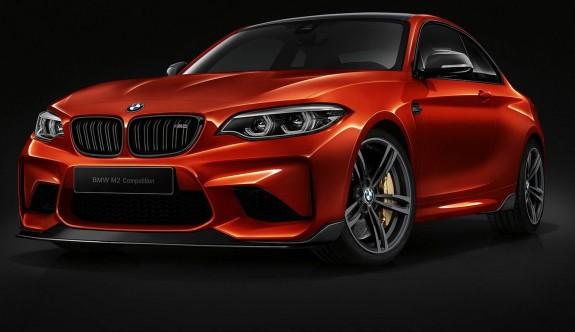 BMW M2'ye Competition dopingi
