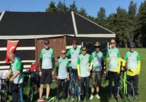 Bolu'dan bisikletle Kıbrıs'a gelecekler