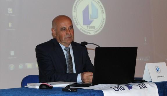 """""""Çağdaş Belediyecilik ve KKTC Belediyeler Reformu""""LAÜ'de konuşuldu"""