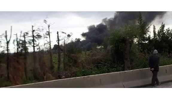 Cezayir'de askeri uçak düştü: 100'den fazla ölü