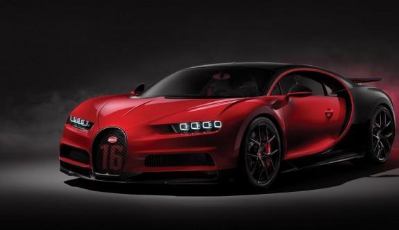 Daha hafif ve keskin: Bugatti Chiron Sport