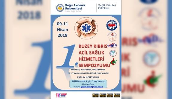 """DAÜ'de """"1. KKTC Ambulans Rallisi ve Ünirallisi"""" yapılacak"""
