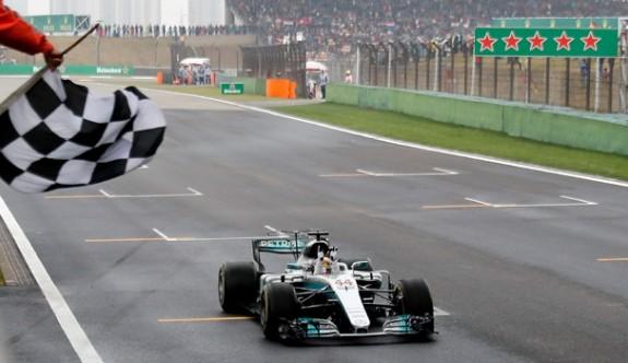 F1 heyecanı Çin'de