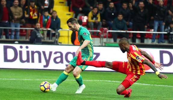 Fenerbahçe'ye Kayseri'ye patladı