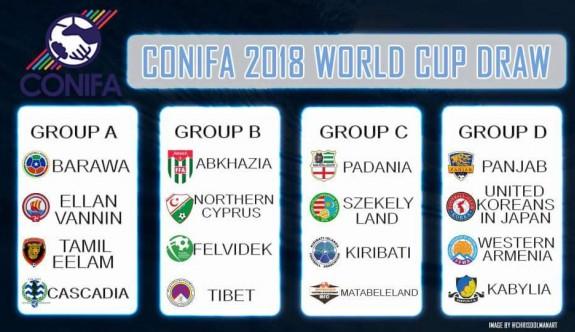 """""""FIFA ve KOP, CONIFA'ya müdahale edemez"""""""