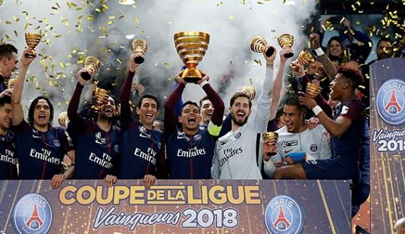 Fransa Kupası, Monaco'yu yıkan PSG'nin