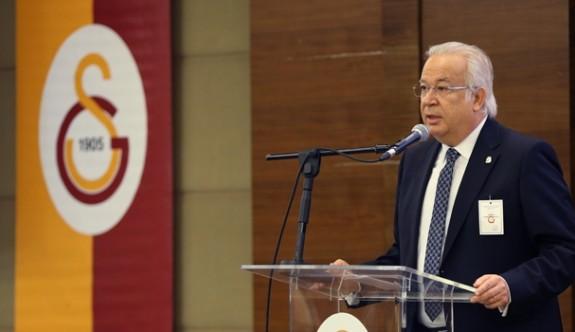 Galatasaray yeni divan başkanı başkan Eşref Hamamcıoğlu