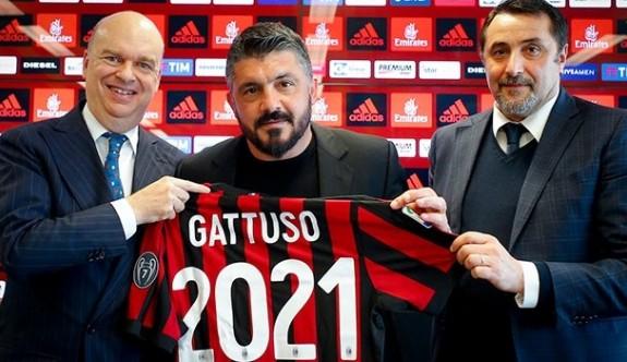 Gattuso 2021'e kadar Milan'da
