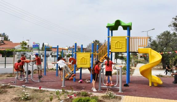 Girne'ye iki çocuk parkı daha