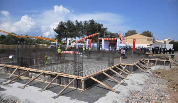 Güzelyurt Belediyesi yeni merkez binasının temeli atıldı