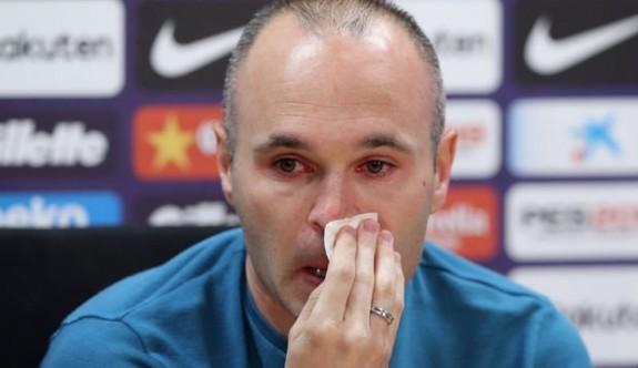 Iniesta, Barcelona'ya 'veda' dedi