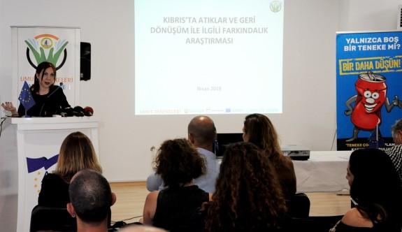 Kıbrıs'ta Katı Atıklar Araştırması sonuçları