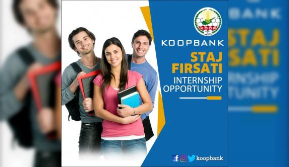 Koopbank'tan yaz dönemi staj fırsatı