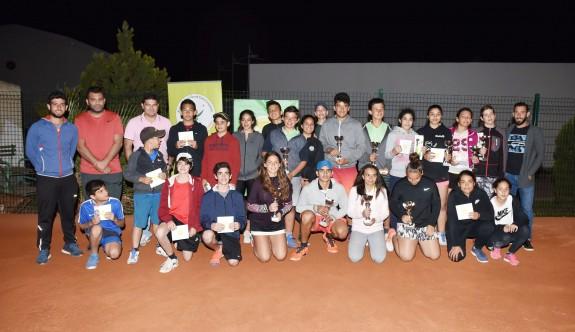 Kortta 18 yaş altı takım turnuvası tamamlandı